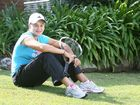 Ipswich's international tennis player Ashleigh Barty enjoys some rare time relaxing at home recently before resuming intense training for 2012 tournaments.