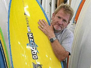 Surfboard shapers' wave of anger