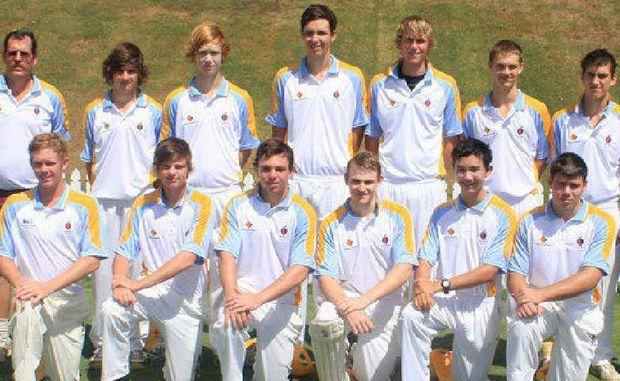 North Queensland under-17 representative cricket side.