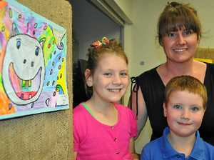 Talented youngsters display works