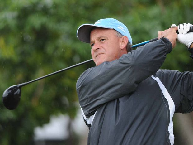 Hervey Bay's Shane Tait is back in action in the professional ranks and is playing in the $1.5m Australian PGA Championship on the Sunshine Coast.