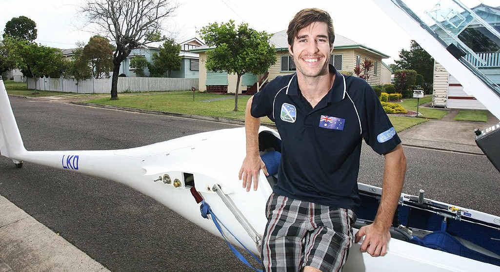 October sport star Nick Maddocks is representing Australia in his aerial sport.