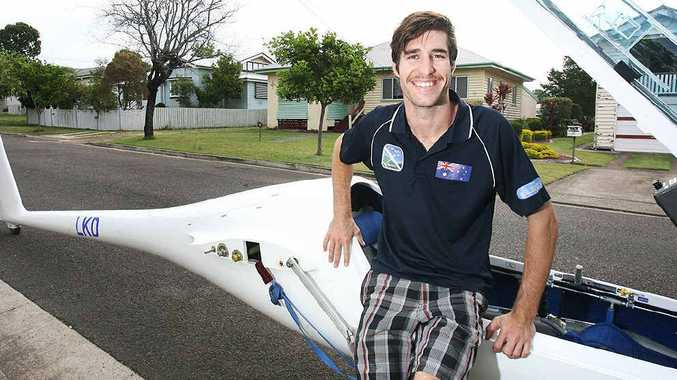 October sport star Nick Maddocks is representing Australia in his aerial sport.