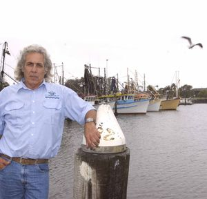 Skipper Tony Puglisi pictured at the Ballina boat harbour.