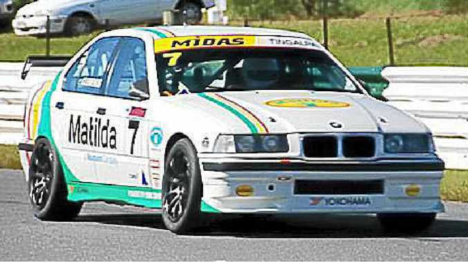 The Neumann Petroleum / Matilda Fuel Network BMW M3 E36 driven by Jason Clements of Ballina, who is looking forward to competing again next year after a win in the final race of the season.