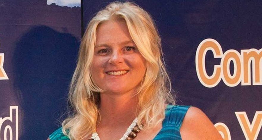 OUTSTANDING: Whitsunday resident and founder of Eco Barge Clean Seas Libby Edge won the Regional Achievement Award for Environment and Land Care two weeks ago on the Gold Coast. Photo Andrea Robinson