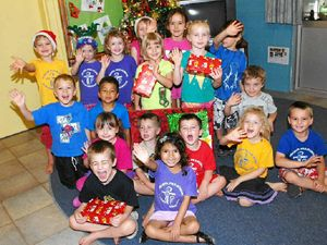 Charity work teaches kids to care