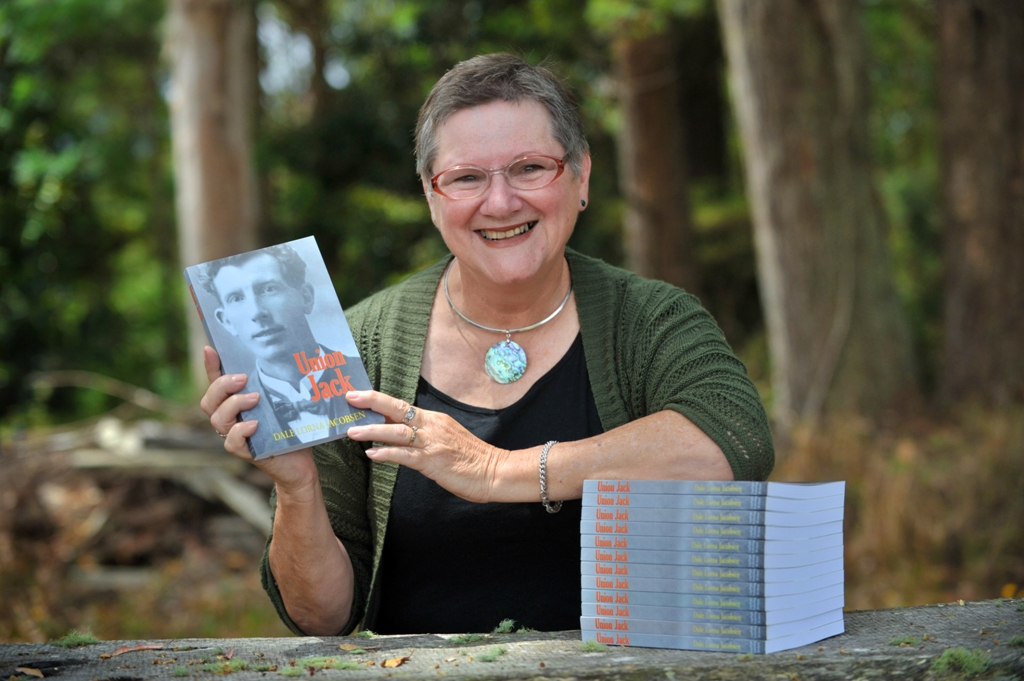 Author Dale Jacobsen has written a book about her grandfather called Union Jack which discusses his role in bringing down corrupt state governments.