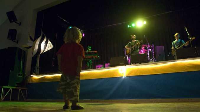 Milo Morris, 2, dances to the band Husky at the 2012 Mullumbimby Music Festival.