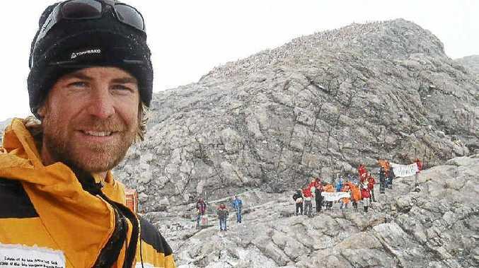 Peter McCabe retraces Sir Douglas Mawson's steps in Antarctica.