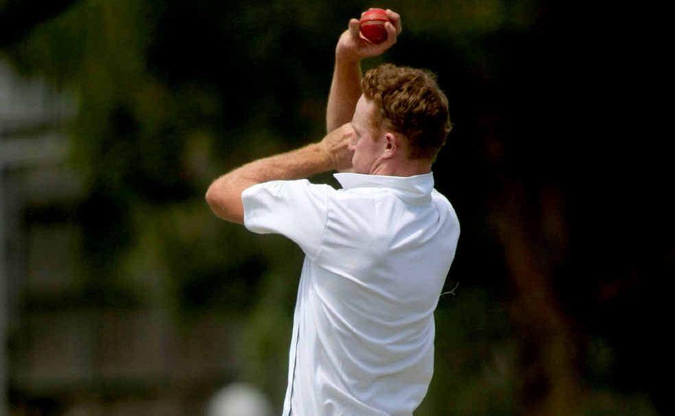 Cudgen quick Chris Moase produced an impressive spell against Alstonville at Reg Dalton Oval.