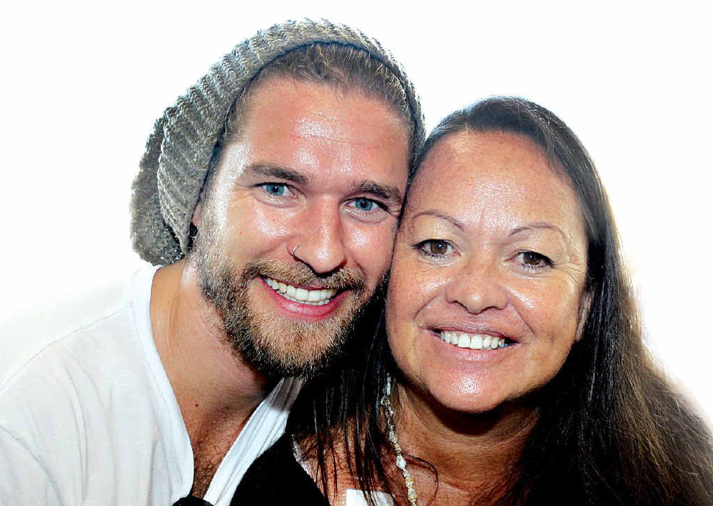 Noosa woman Moy Sweetman is over the moon that her friend Tommy Leitch will donate one of his kidneys to save her life.