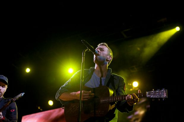 Coldplay headlined Splendour for 2011.