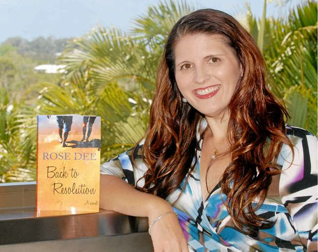 Mackay author Rose Dee's book Back to Resolution will be launched at Collins Booksellers at Sydney Street Markets on Saturday, December 10.
