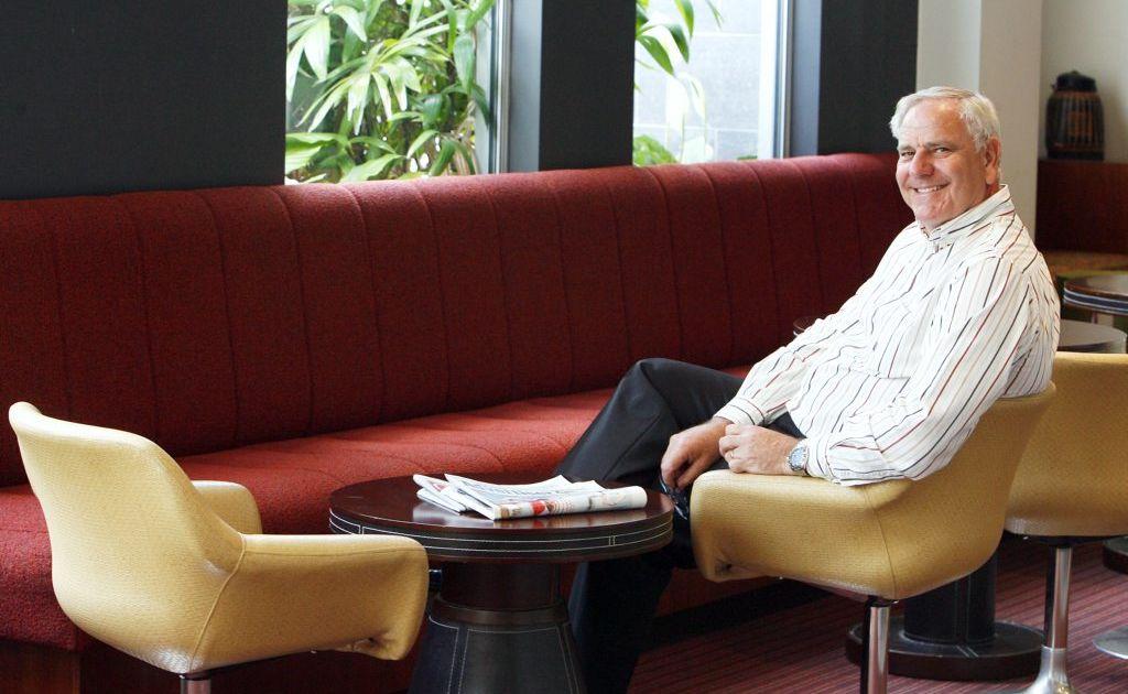 Metro Hotel Ipswich International general manager Ted Matthews.