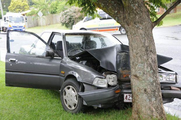 Car Crash Highfields Queensland