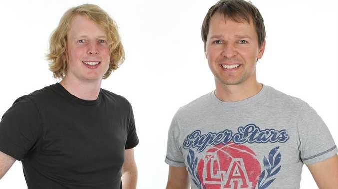 FlickDesk founders Nick McIntosh, left, and Gideon Shalwick.