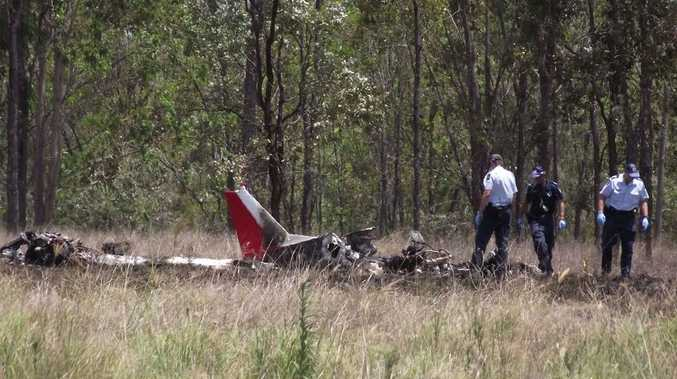 A husband and wife are dead following a plane crash at Mundubbera.