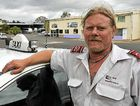 Taxi driver Rod Maxted will be forking out more for gas after a new government tax raised the price by 2.5 cents a litre.
