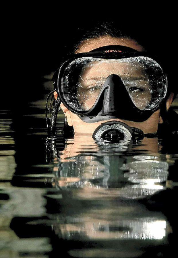 Kirra Dive instructor Christie Morgan.