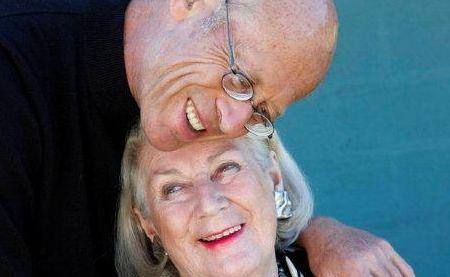 David Helgott and his wife of 28 years, Gillian Helfgott.