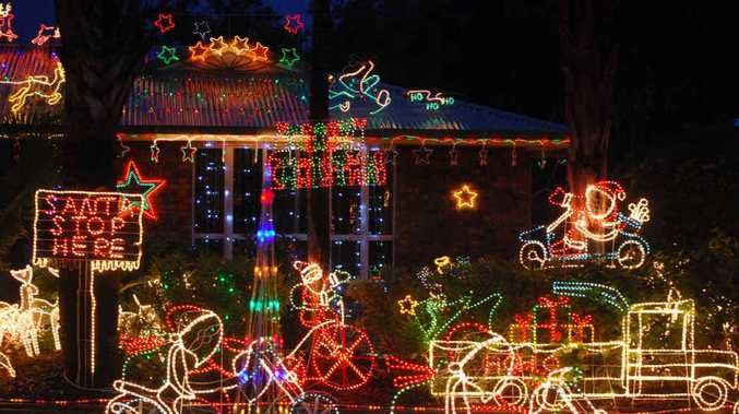 Last year's Kidd St Christmas light displays had delighted onlookers walking the length of the street.