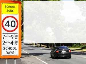 City drivers speed in school zones