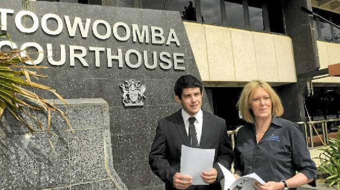 John Anderson and Sue Gordon are behind the youth court pilot project which will be introduced at a Toowoomba school next year.