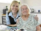 Maroochydore centenarian Sue Dodds shared some of her life stories with Samantha Mawdsley who manages the 100+ Club for people aged over 100.
