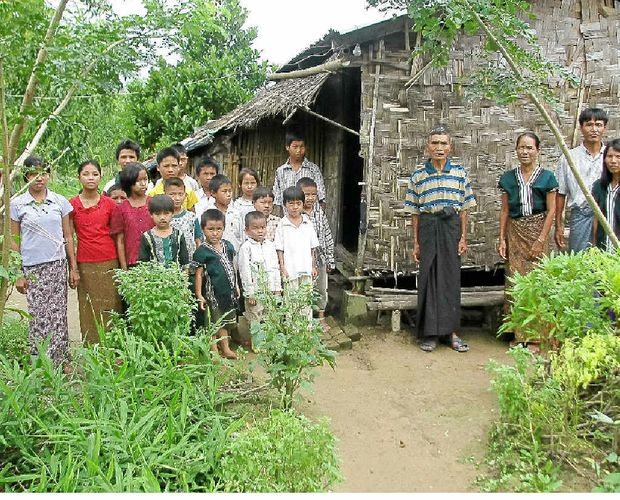 Lise Slack is helping to fund an orphanage in Myanmar.