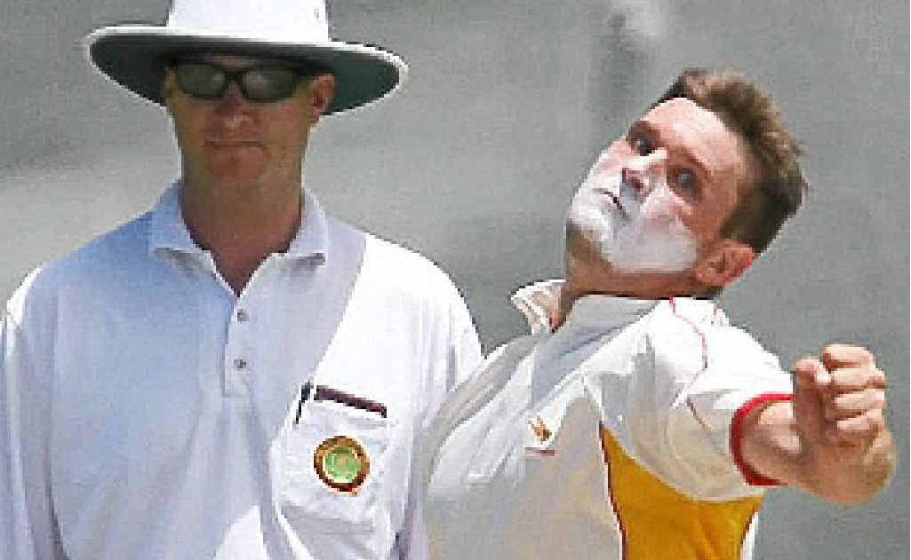 Sunshine Coast bowler Kobi Griggs.