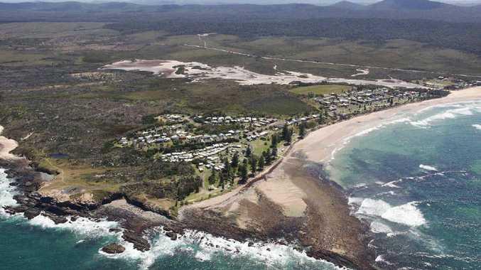 Aerial view of Brooms Head