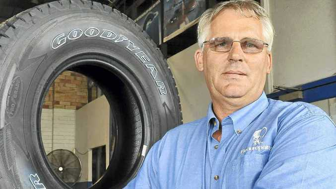 Beaurepaires manager Evan Mangin still enjoys working in the tyre industry after almost three decades.