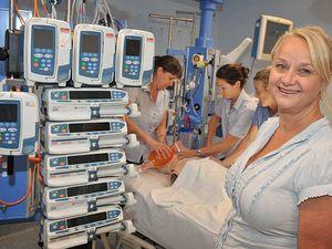Patients benefit in nursing trial