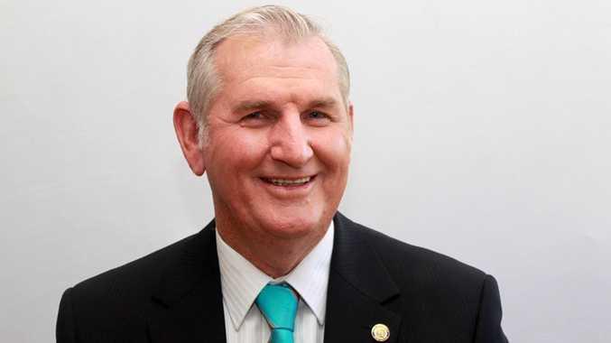 Isaac Regional Council Mayor Cedric Marshall