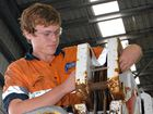 First-year Haynes Mechanical diesel fitter apprentice Beau Blyton would welcome a pay boost.