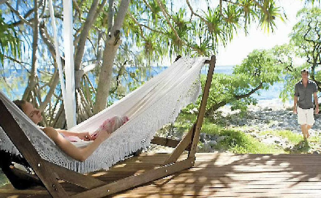 Kick back and relax on Wilson Island.