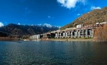 The Hilton Queenstown offers lakefront luxury.