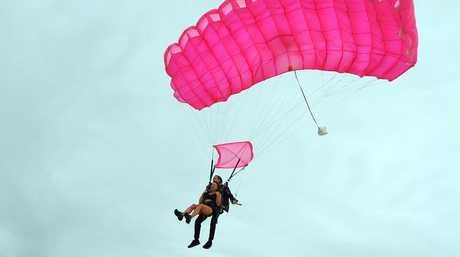 Parachuting is a popular bucket list must do.