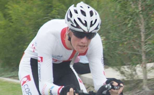 LOOKING AHEAD: Proserpine's paracycling superstar David Nicholas. Photo Contributed