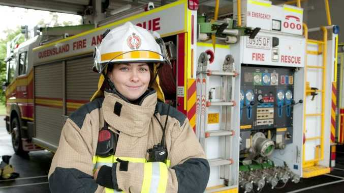 Fourth Class Firefighter Julia Parker begins work at the Kitchener St station.
