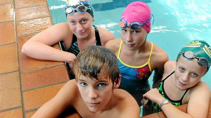 Caleb Spark, Chloe McClure, Natasha Walden and Alysse Schweizer are ready for the state titles.