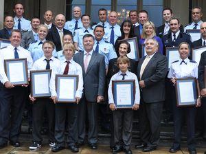 Heroes of drowning honoured