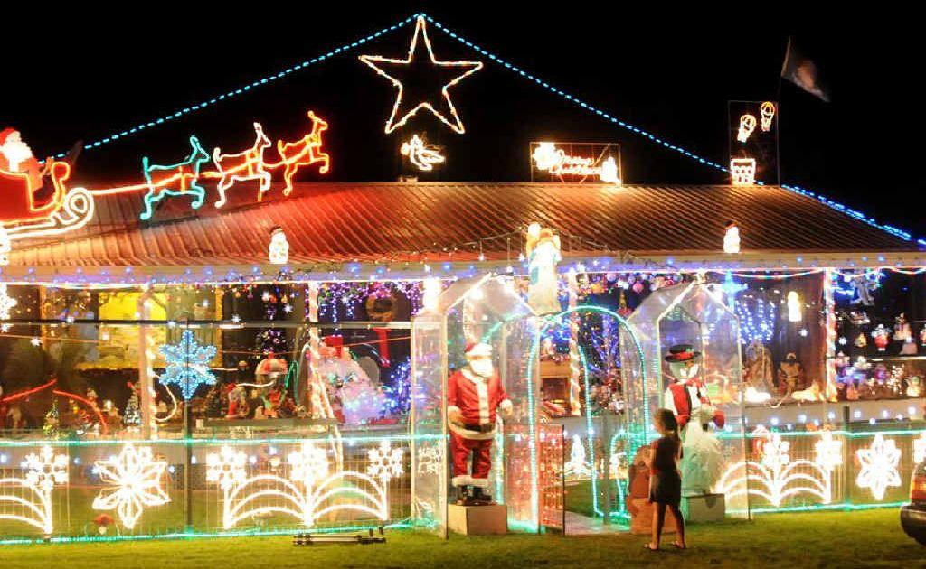 Ray Doel's award winning lights display.
