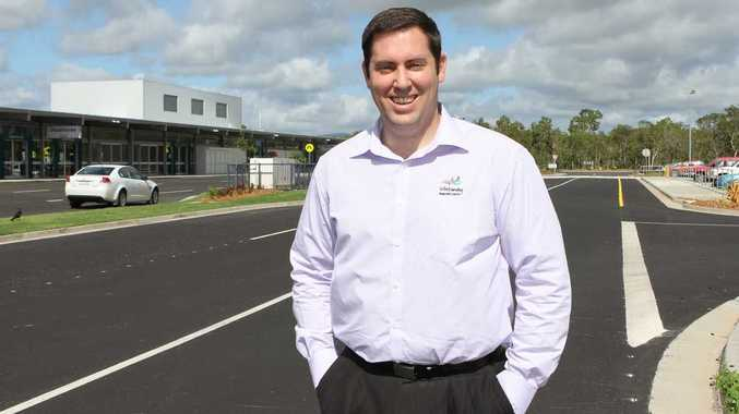 UP AND AWAY: Whitsunday Coast Airport business development manager Scott Waters is working towards an official airport opening that will include as many members of the community as possible. Photo Sharon Smallwood / Whitsunday Times