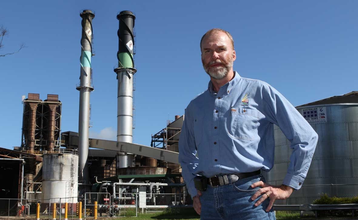 HOPEFUL: Sucrogen's Russell Brown is hoping for a successful conclusion to his company's bid for the Proserpine Sugar Mill at the creditor meeting on Friday. Photo Sharon Smallwood / Whitsunday Times