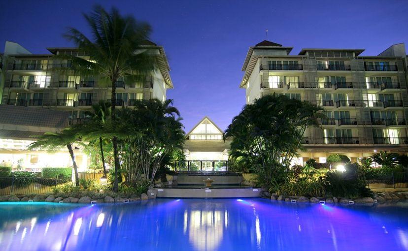 Novotel Cairns Oasis Resort.