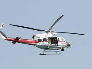 RACQ rescue chopper on standby
