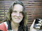 India Belz, age 14 of Rockhampton. The teenager uses her phone every day to text friends and family.