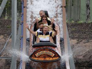 Aussie World's first water ride